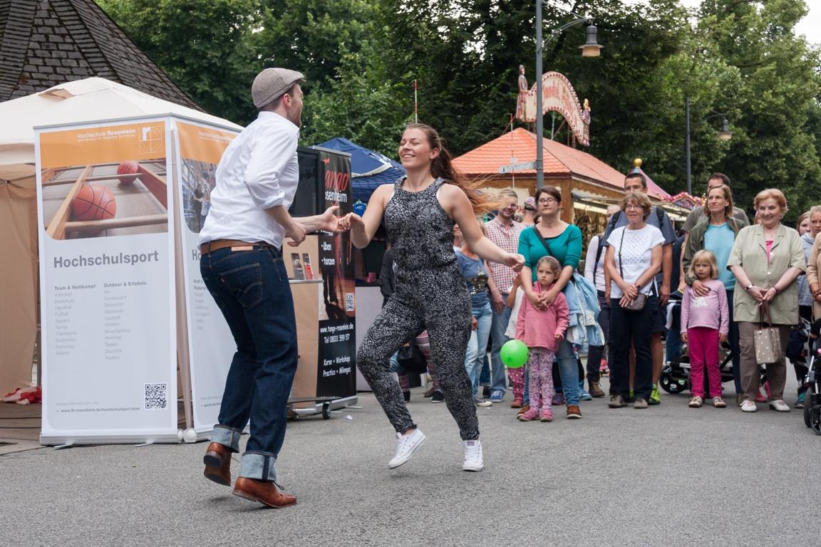 Stadtfest 2015 in Rosenheim. Organisiert vom Citymanagement Rosenheim.